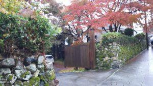 穴太衆石垣と紅葉 25回生 Iさんの写真